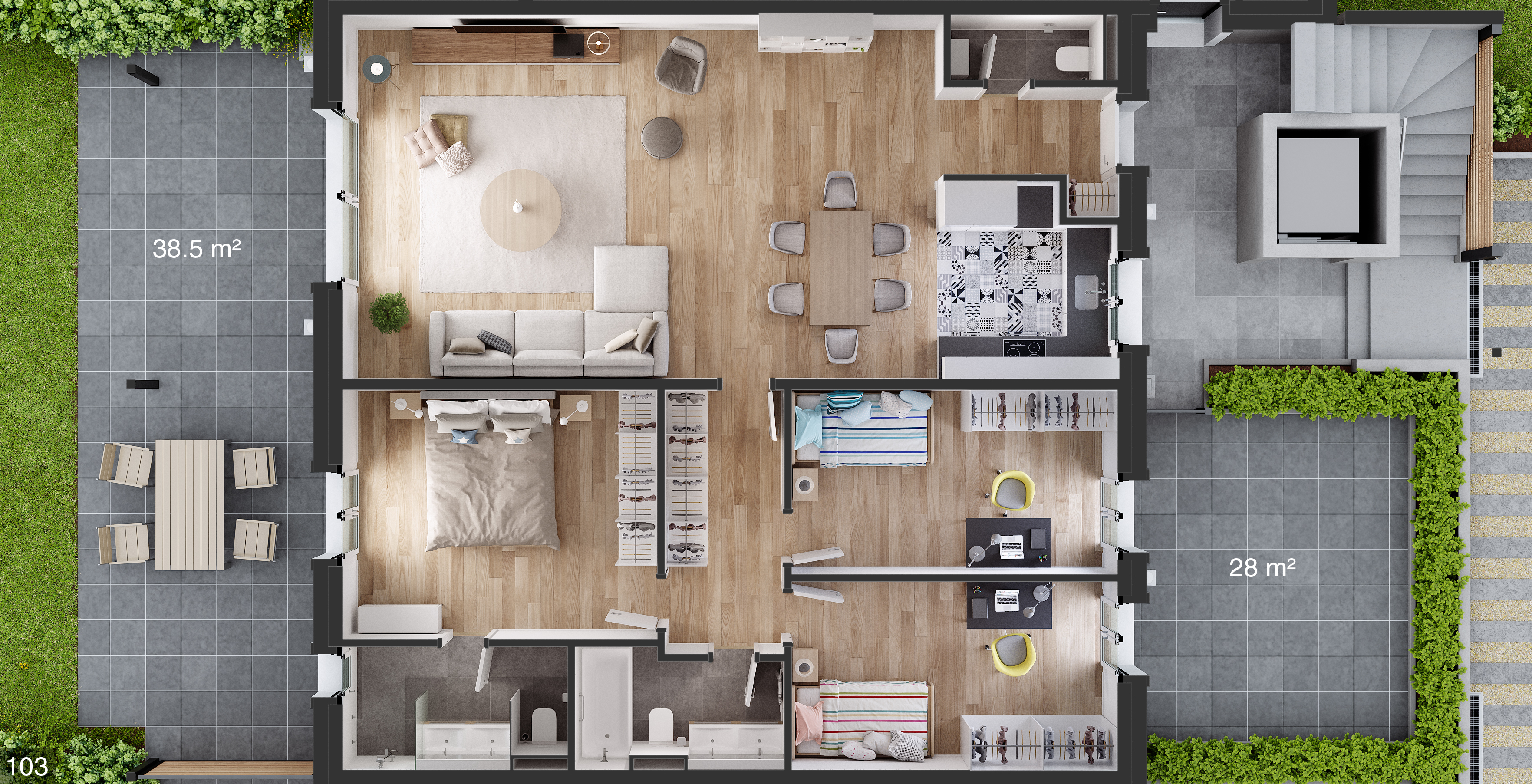 projet immobilier collex-bossy